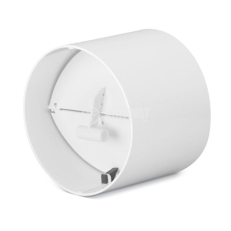 Клапа за вентилатор ф100mm, Fresh и PAX, 669801 - 1