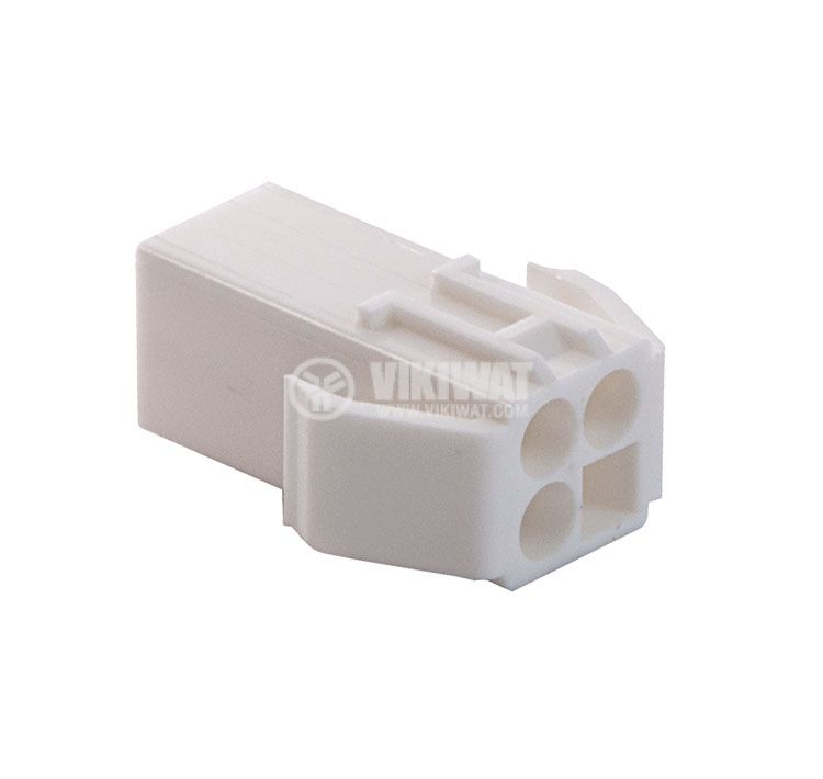 Конектор за обемен монтаж женски, VF45003-4RF, 4 пина - 1
