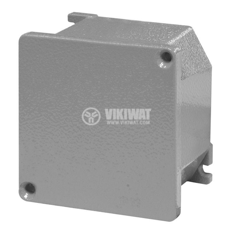 Взривозащитена разклонителна кутия 653.9000 за стенен монтаж, 100x100x58mm, лят алуминий