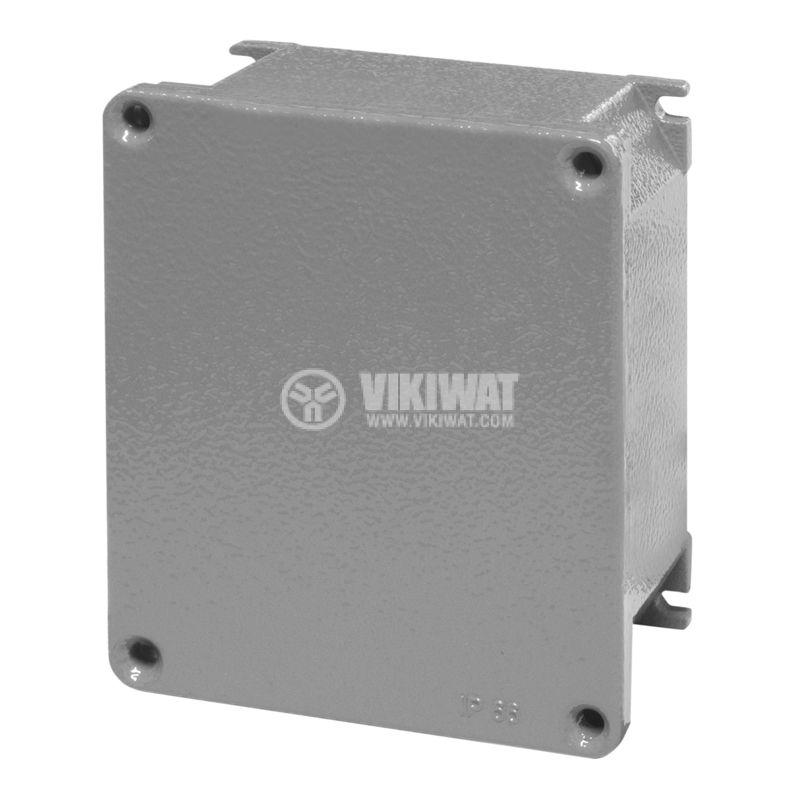 Взривозащитена разклонителна кутия 653.9001 за стенен монтаж, 140x115x60mm, лят алуминий