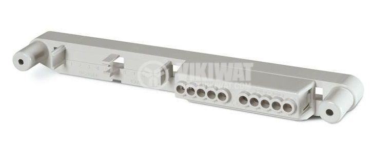 Нулева съединителна клема, 8/12/24 DIN, 200x33x21mm, SCAME 654.0361C