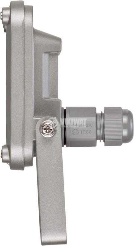 Прожектор 10W, 230VAC, 900lm, 6500K, студенобял, IP65, влагозащитен, BRENNENSTUHL 1171250131 - 4