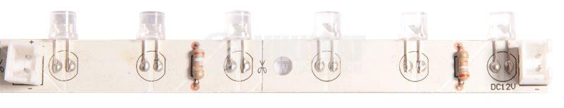 LED модул, 18LED, 1,05W, 12VDC, зелен - 1