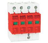 Surge protector SPD 64403, 3P+N, 440VAC, 2kV, 20kA, 40kA, DIN rail