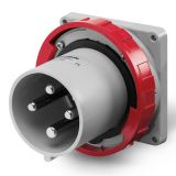 Industrial plug, 63A, 415VAC, 3P+E, SCAME 248.6396