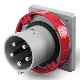 Industrial plug, 63A, 415VAC, 3P+N+E, SCAME 248.6397