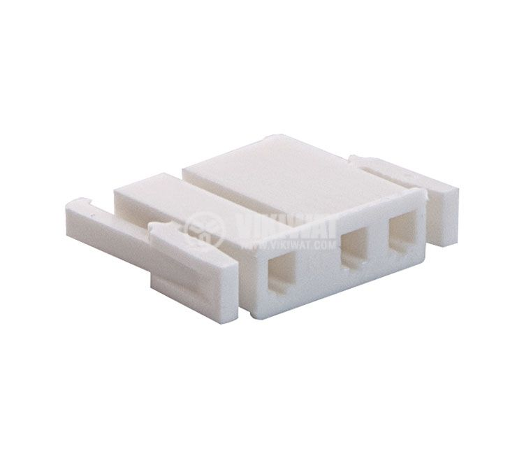 Connector female, VF75005-3Y, 3 pins - 1