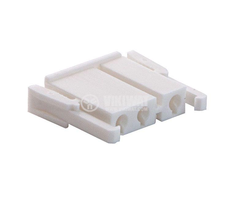 Connector female, VF75005-3Y, 3 pins - 3
