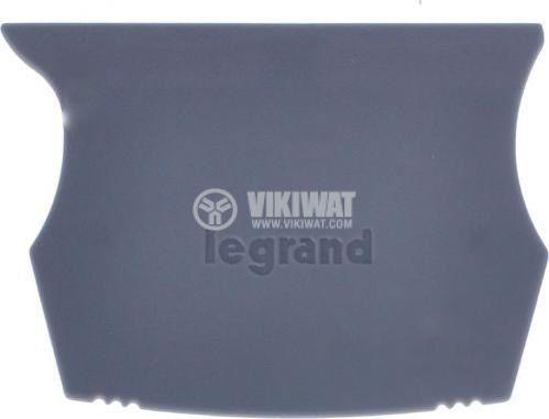 Капачка за редова клема 2.5~10mm2 крайна LEGRAND