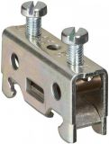 End stop LEGRAND 37176 for terminal block, 15mm, gray