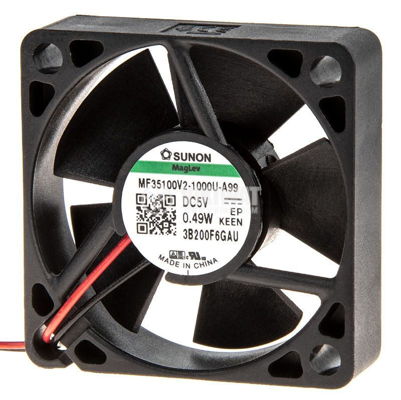 Вентилатор безчетков SUNON MF35100V2-1000U-A99 - 2