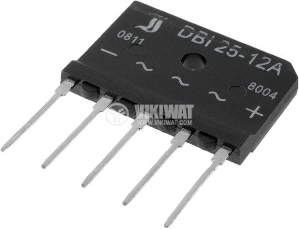 Bridge rectifier DBI25-12A 25A 1200V three-phase