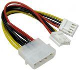 Захранващ кабел, Molex/m - 2xFDD/f, 200mm, CAB-DC2, BQ CABLE