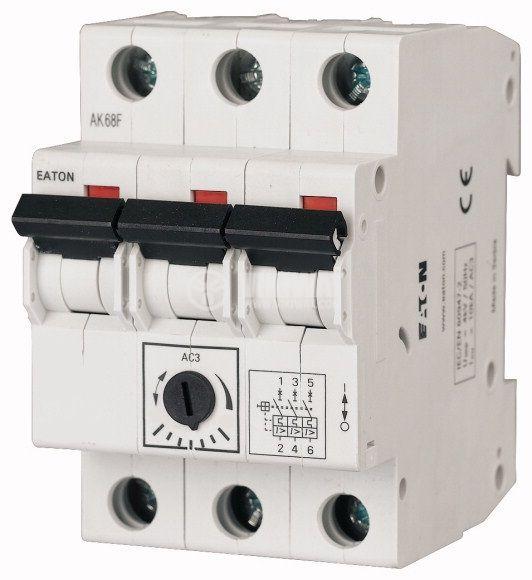 Моторна защита, термо-магнитна, трифазна, Z-MS-0.25/3, 0.16~0.25A, EATON