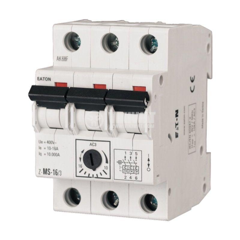 Моторна защита, термо-магнитна, Z-MS-40/3, 25~40A, EATON