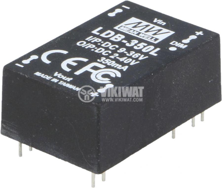 Модул конвертор DC-DC LDB-350L 9~36V 2~40VDC 0.35A