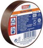 PVC insulating tape, 20m x 19mm, brown, TESA 53988