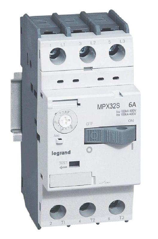 Моторна термично-токова защита, MPCB MPX3 32S (417308), трифазна, 4 - 6A