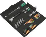 Комплект инструменти, гедоре, 35 части, WERA Kraftform Kompakt F1
