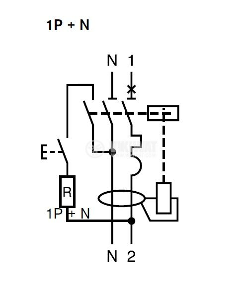 Wiring Diagram For Rccb : Residual current device rccb circuit breaker dpna vigi