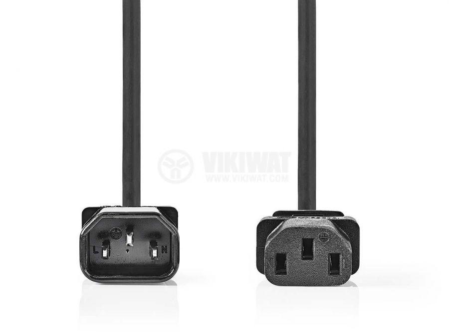 Захранващ кабел, удължител, 3x1mm2, 3m, 250VAC/10A - 2