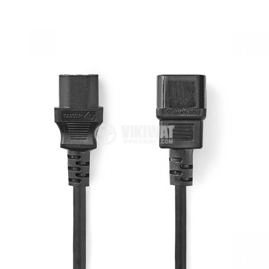 Захранващ кабел NEDIS CEGP10500BK30 - 1