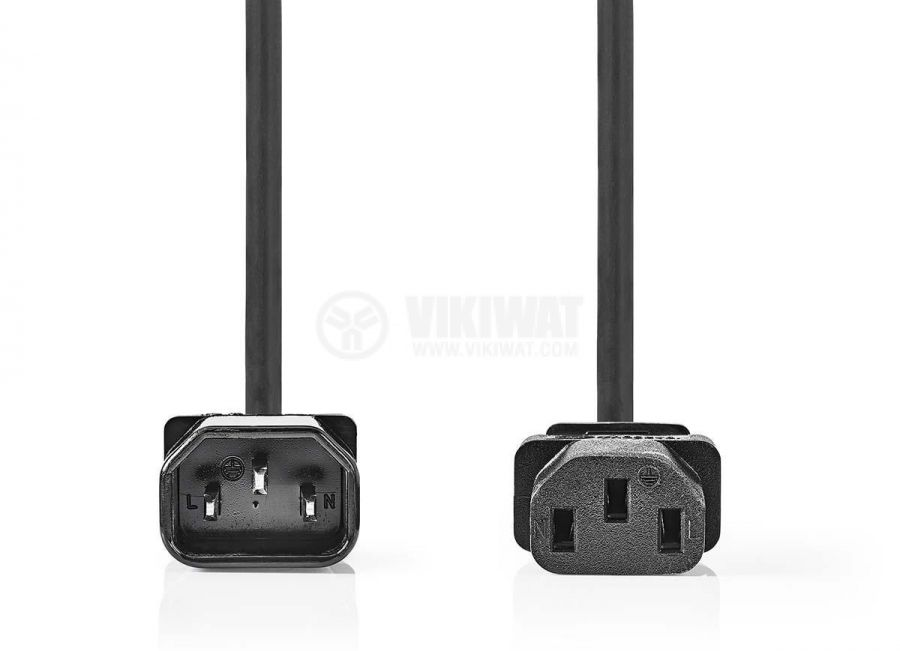 Захранващ кабел, удължител, 3x1mm2, 5m, 250VAC/10A - 2
