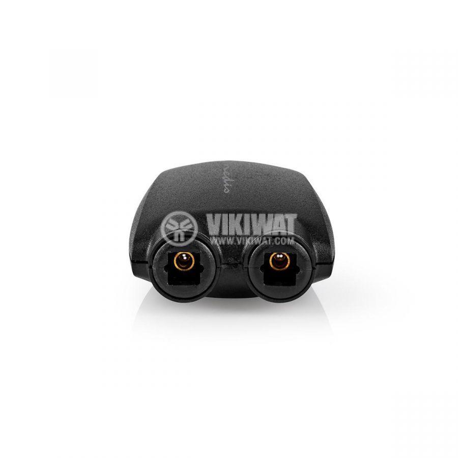 Дигитален аудио оптичен адаптер TosLink - 2 x TosLink - 2
