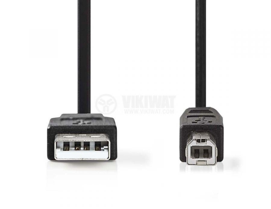 Кабел USB A/m - USB B/m 2m - 2