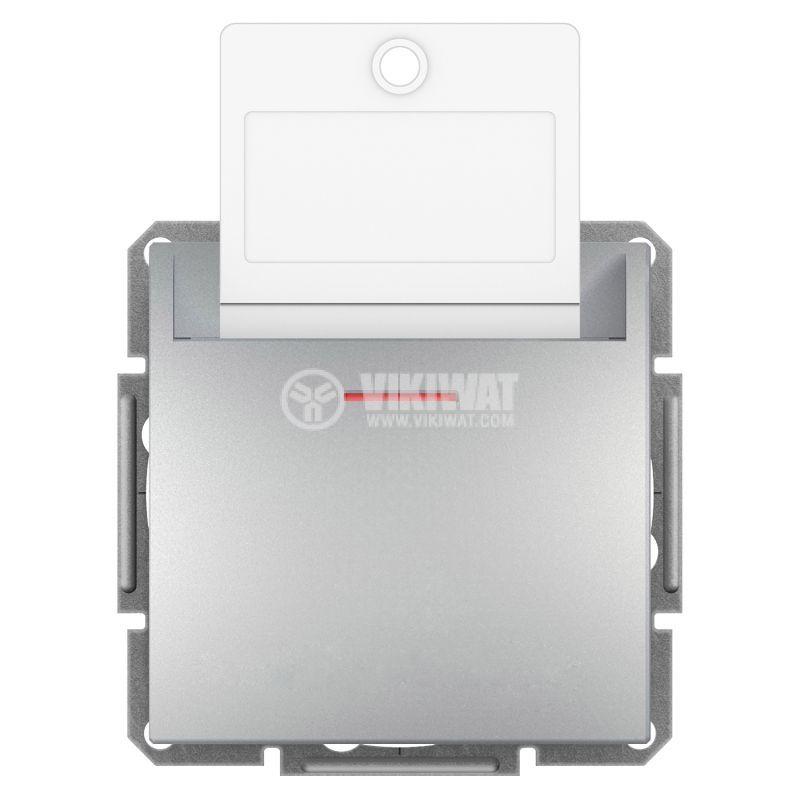 Електрически ключ за карта, 10A, алуминий, EPH6200161