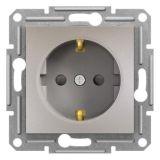 Електрически контакт, 16A, единичен, бронз, шуко, EPH2900269