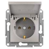 Електрически контакт, 16A, единичен, бронз, шуко, EPH3100169