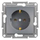Електрически контакт, 16A, единичен, стомана, шуко, EPH2900162