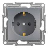 Електрически контакт, 16A, единичен, стомана, шуко, EPH2900262