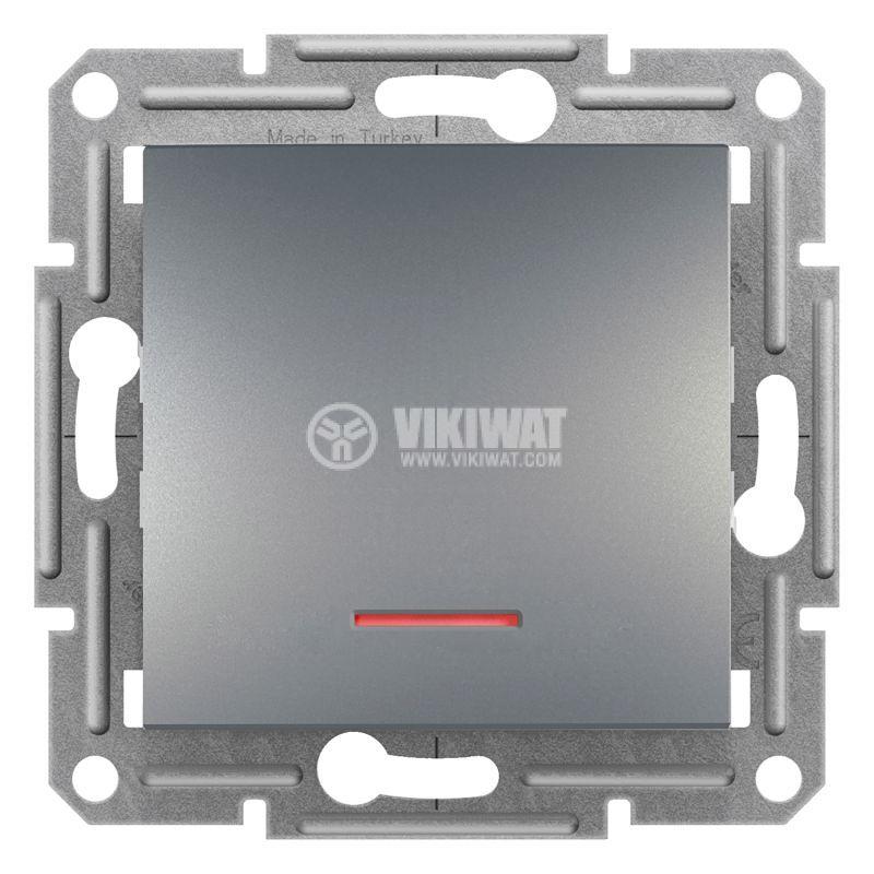 Електрически ключ сх.1 единичен, 10A, стомана, EPH1430362