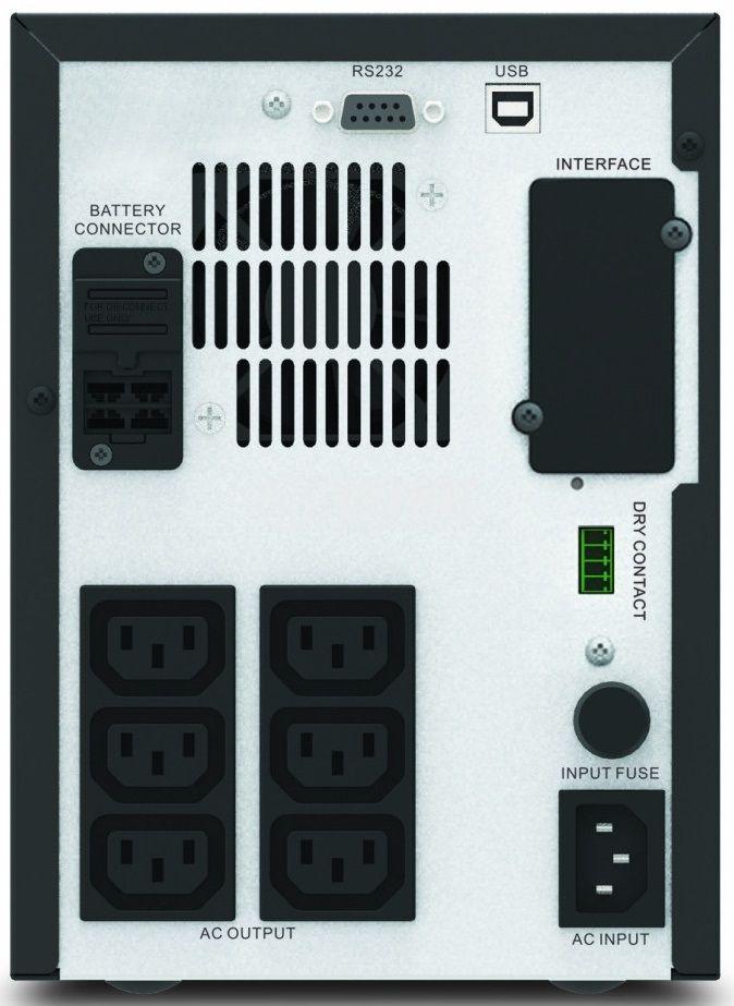 Аварийно захранване UPS 750VA, 230VAC, 525W, истинска синусоида - 2