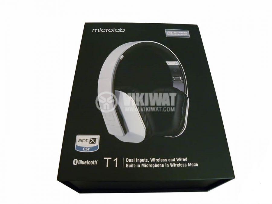 Wireless headset, Microlab T1, Bluetooth - 3