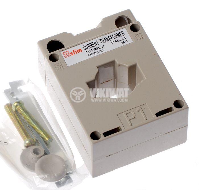 Current transformer 300/5 А, MSQ-30 - 1