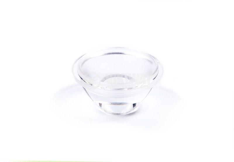 LED оптика, кръгла, прозрачна, самозалепваща лента, OSOLRA2045M, OPTOSUPPLY