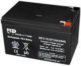 Тягов акумулатор UNIVERSAL POWER GB12-12 12VDC, 12Ah, презареждаем, капсулован