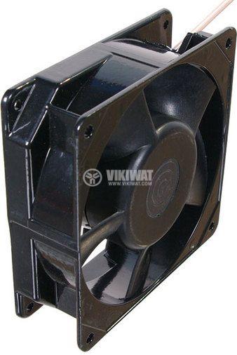 Axial Blower BA9/2 92x92x26 mm, 220 VAC, 15 W, 60 m3/h, high temperature - 2