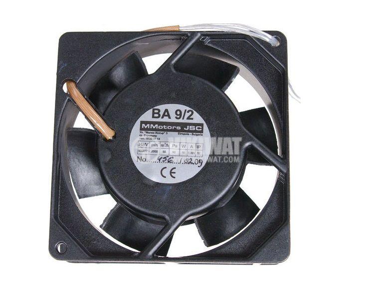 Axial Blower BA9/2 92x92x26 mm, 220 VAC, 15 W, 60 m3/h, high temperature - 1