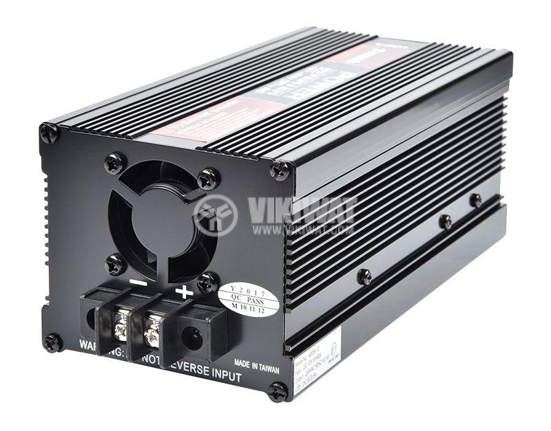 Инвертор V301-400W-12V, 12VDC - 220VAC, 400W, модифицирана синусоида, с USB - 2