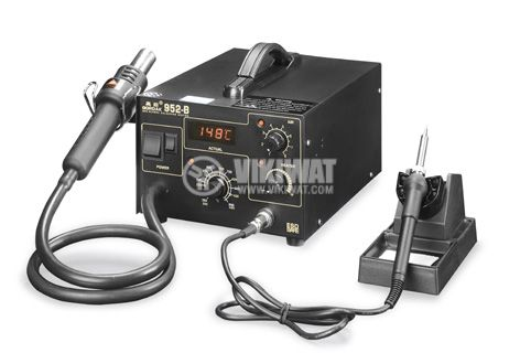 Hot air soldering station 952B with soldering iron