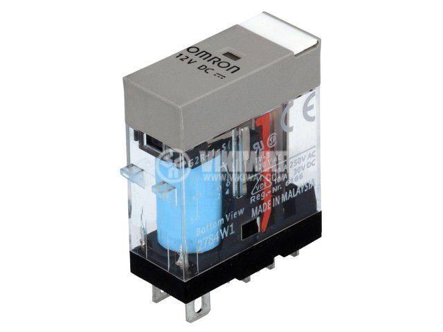Реле електромагнитно G2R-1-S 12VDC (S), бобина 12VDC, 10A, 250VAC