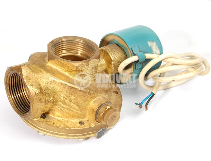 Two-way Solenoid Valve, VEM 605,G 1 1/4'' , 24 VDC - 1
