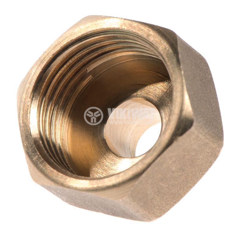"""Brass nipple G3/4""""-G1/2"""", S24mm - 3"""