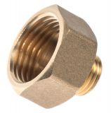 """Brass nipple G3/4""""-G1/2"""", S24mm"""