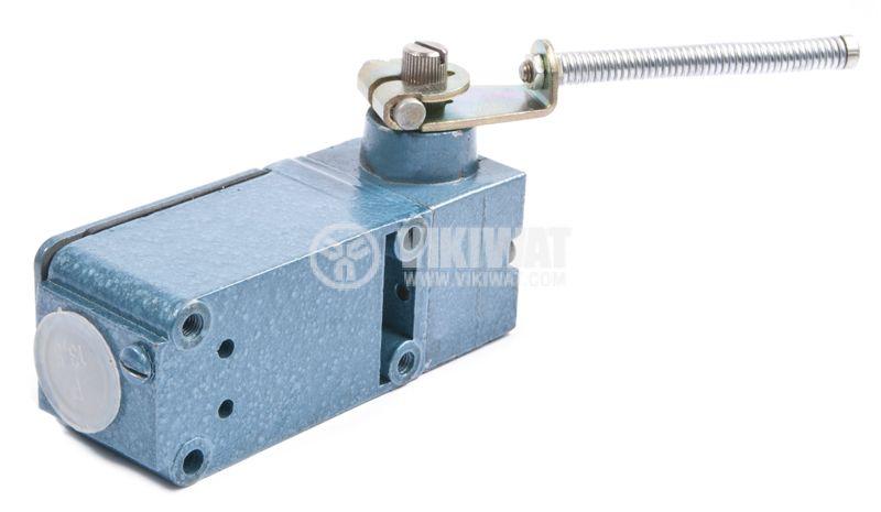 Краен изключвател FAEL 8105072, 10A/380V, NO+NC, рамо с пружина - 4