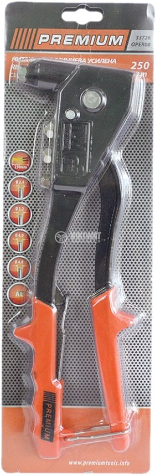 "Професионална нитачка, до 4.8mm (3/16"") - 2"
